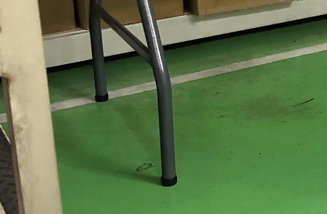 作業台の足